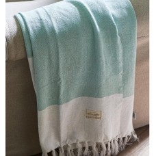 KOC BARBARIA THROW GREEN RIVIERA MAISON